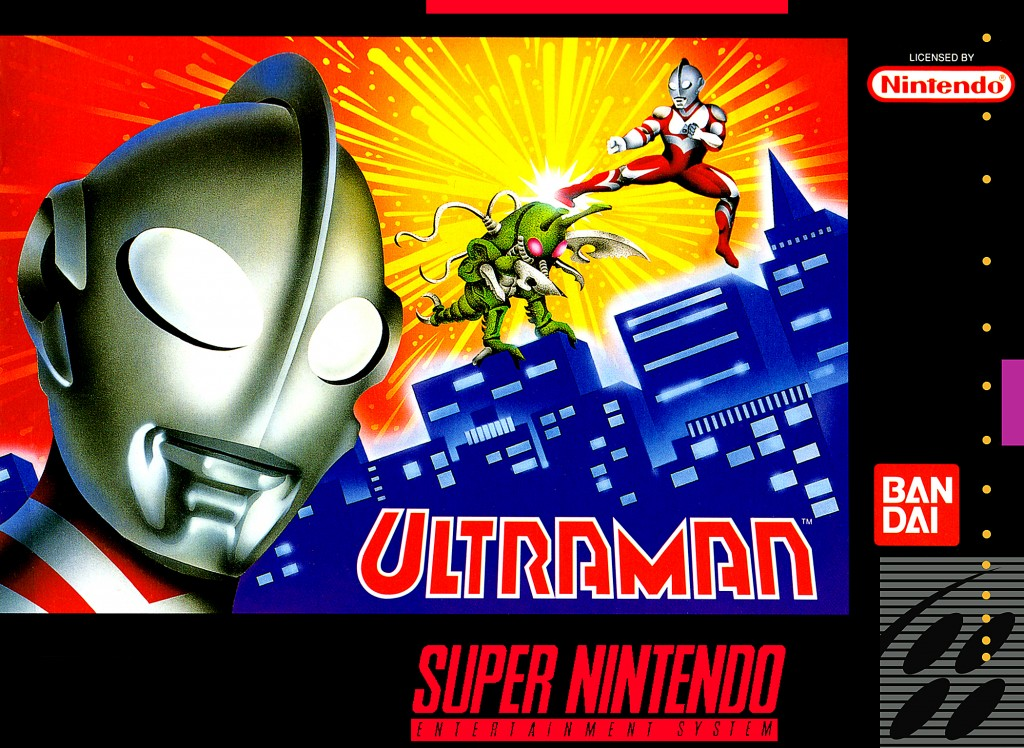 Ultraman Towards The Future Toys SNES A Day 15: Ultrama...
